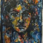 acrylique encre 50x65