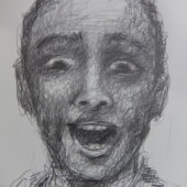crayon graphite 50x65